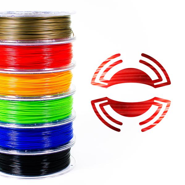 filamento-petg-rosso-trasparente-175-700gr