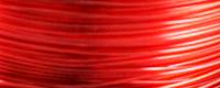 Filamento PETG Rosso Trasparente 1.75mm da 700gr