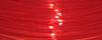 Filamento PLA Rosso Trasparente 1.75mm da 700gr